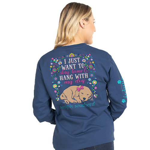 Simply Southern Long Sleeve Tee - Want