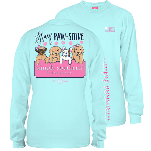 Simply Southern Long Sleeve Tee - Pawsitive