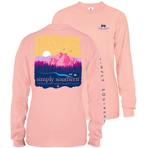 Simply Southern Long Sleeve Tee - Adventure