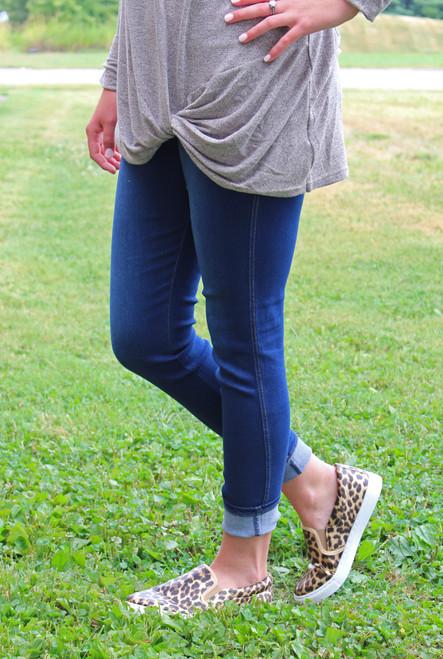 Simply Southern Denim Leggings - Medium Wash
