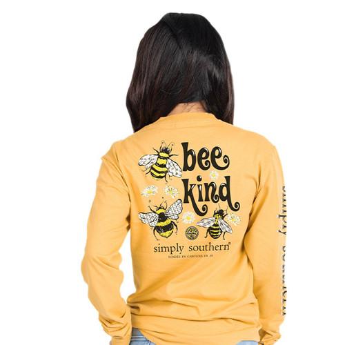 Simply Southern Long Sleeve Tee - Bee