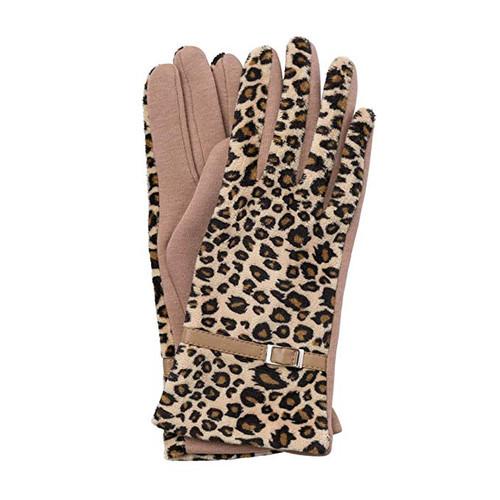 Evelyn Gloves - Leopard