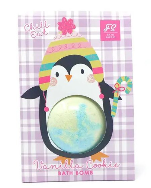Chill Out Vanilla Cookie Penguin Bath Bomb Bag