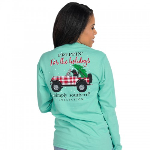 Simply Southern LS Tee - Preppin