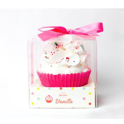 Large Cupcake Bath Bomb - Vanilla
