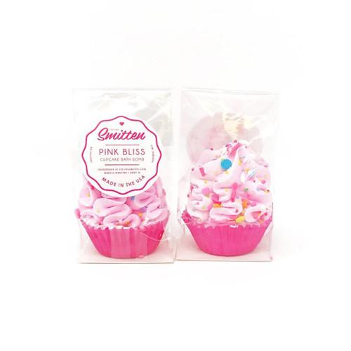 Mini Cupcake Bath Bomb - Pink Bliss