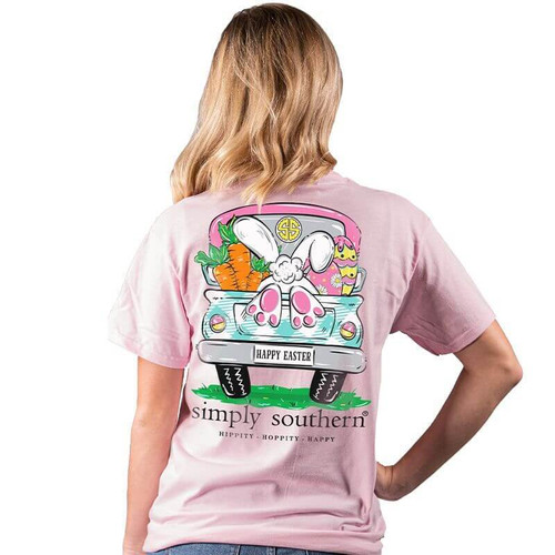 Simply Southern Short Sleeve Tee - Bunny