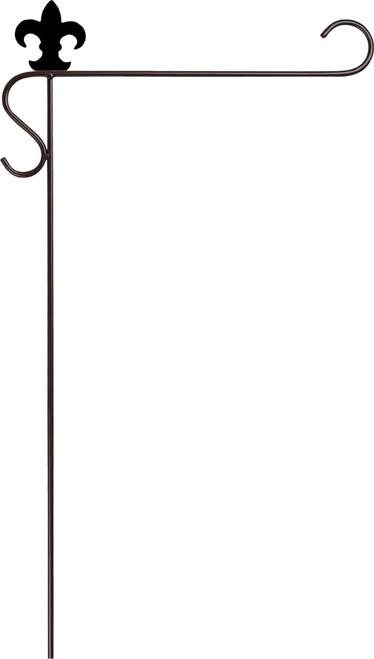 Mini Flag Pole - Fleur De Lis