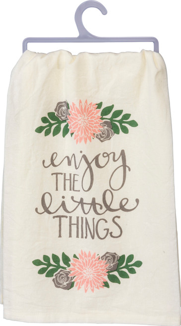 Little Things Dish Towel