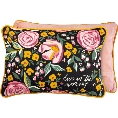 Live In The Moment Pillow