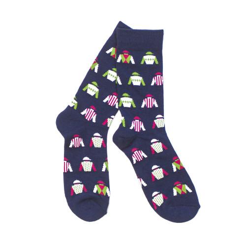 Jockey Silk Socks - Navy