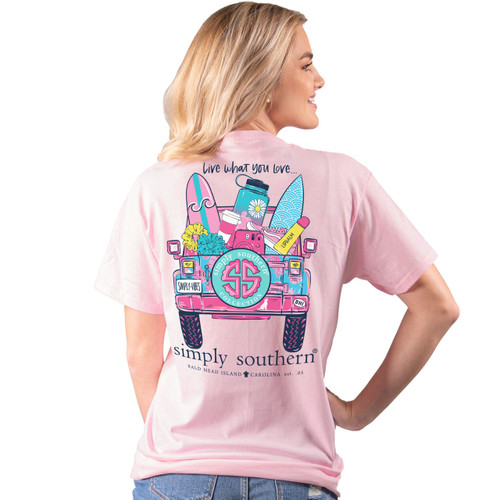 Simply Southern Short Sleeve Tee - Live