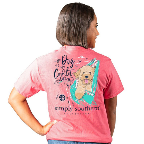 Simply Southern Short Sleeve Tee - Pilot