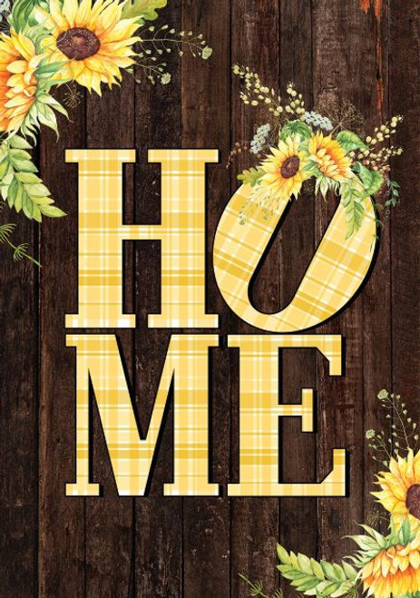 Sunflower Home Garden Flag