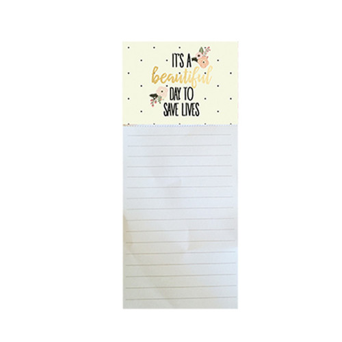 Beautiful Day Magnetic Notepad
