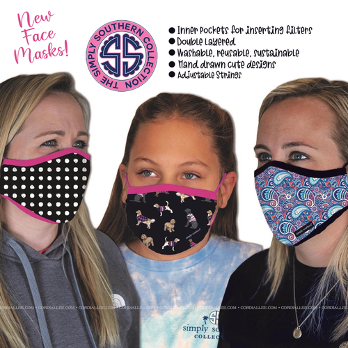 Simply Southern Face Mask