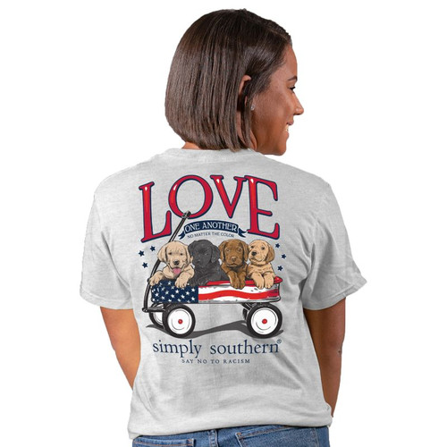 Simply Southern Short Sleeve Tee - Love One Another