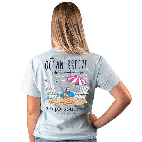 Simply Southern Short Sleeve Tee - Breeze