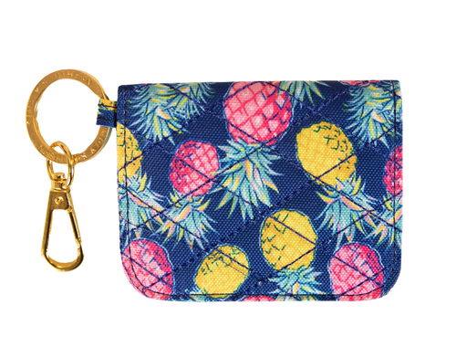Simply Southern ID Wallet - Navy Pineapple