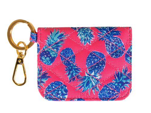 Simply Southern ID Wallet - Pink Pineapple