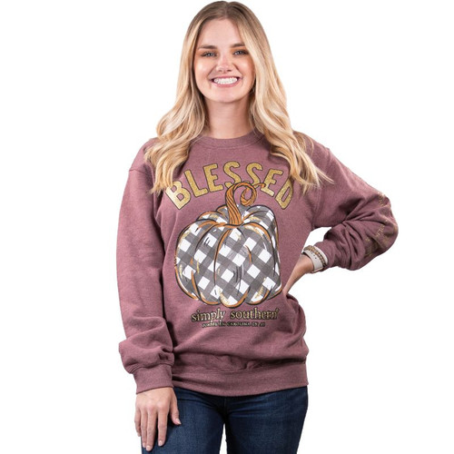 Simply Southern Sweatshirt - Blessed