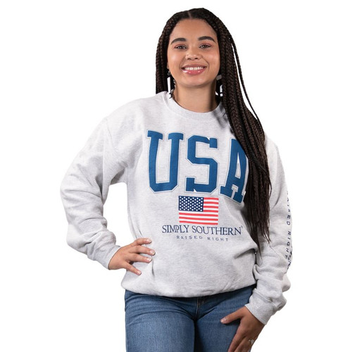 Simply Southern Sweatshirt - USA