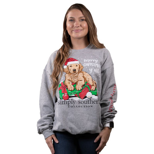 Simply Southern Sweatshirt - Christmas Y'all