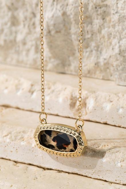 Leopard Charm Necklace