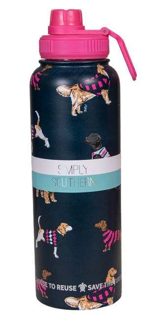 Simply Southern 40oz Water Bottle - Dog