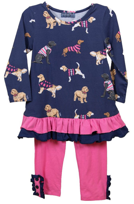 Simply Southern Toddler Button Set - Dog