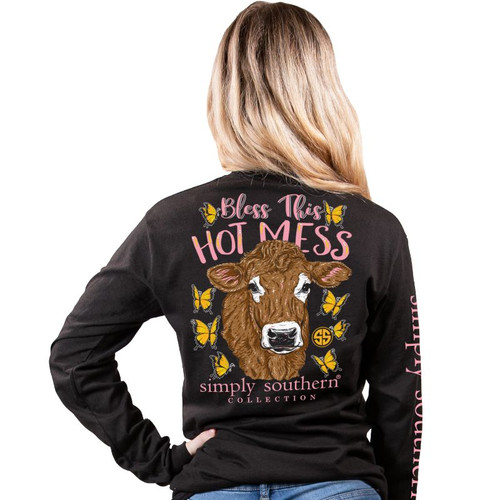 Simply Southern Long Sleeve Tee - Mess