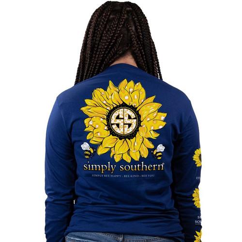Simply Southern Long Sleeve Tee - Sunflower