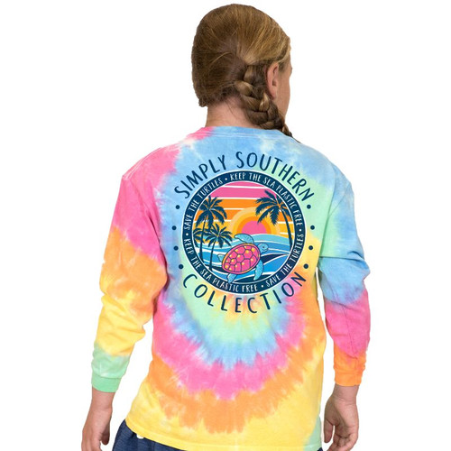 Youth Simply Southern Long Sleeve Tee - Plastic