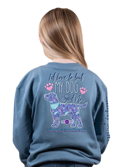 Youth Simply Southern Long Sleeve Tee - No