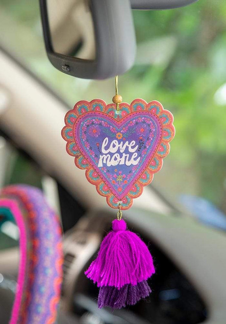 Love More Car Air Freshener