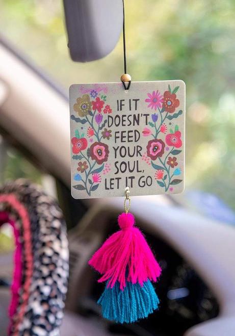 Let It Go Car Air Freshener