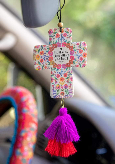 Trust In The Lord Car Air Freshener