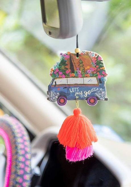 Let's Just Go Car Air Freshener