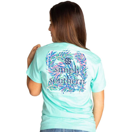 Simply Southern Short Sleeve Tee - Abstract Logo