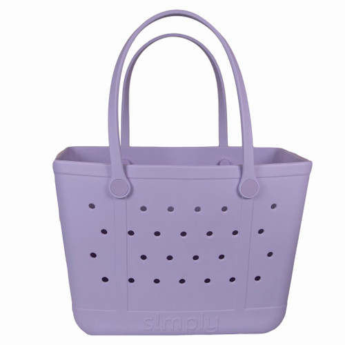 Large Simply Tote by Simply Southern - Orchid