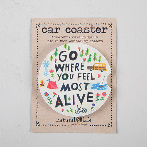 Car Coaster - Go Feel Alive