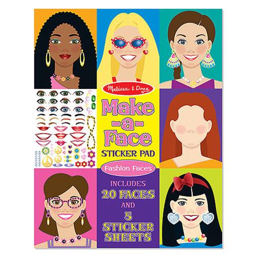 Make a Face Fashion Sticker Pad