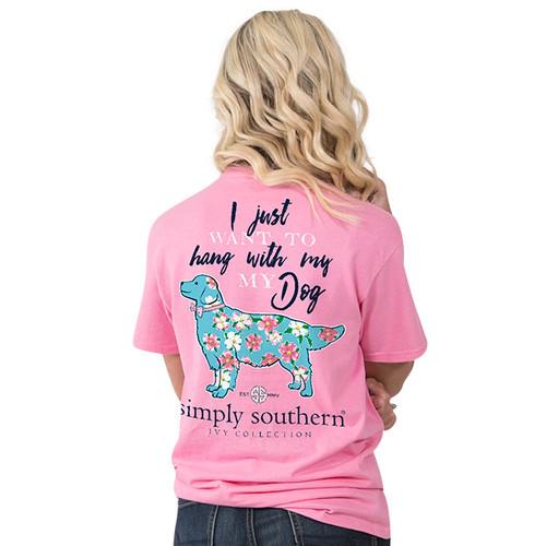Simply Southern SS Tee - Preppy My Dog
