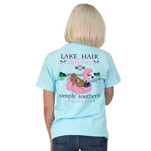 Simply Southern SS Tee - Preppy Lake Float