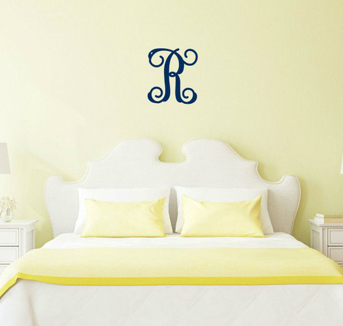 "18"" Single Initial Wooden Monogram"