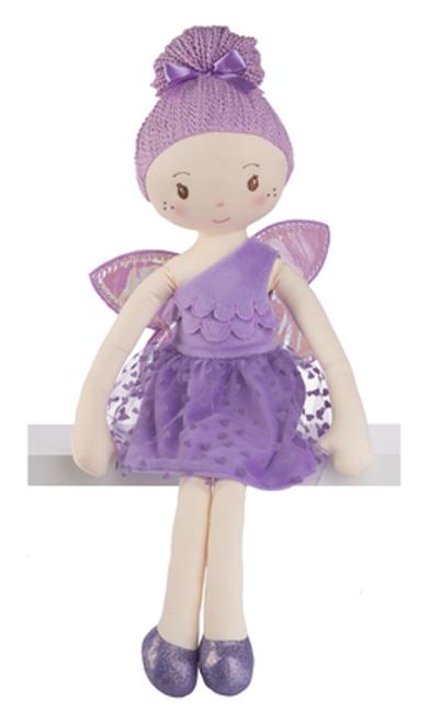 "28"" Fiona Fairy Doll - Purple"