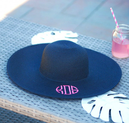 Floppy Sun Hat - Navy