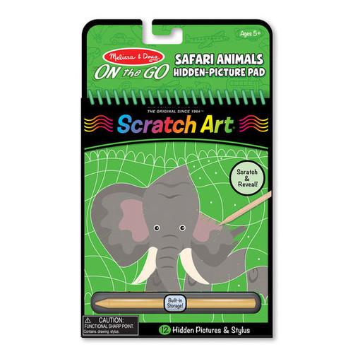 Safari Animals Hidden Picture Pad