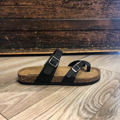 Morgan Outwoods Sandal - Black