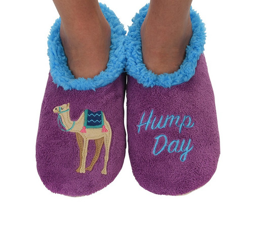 Snoozies Splitz Slippers - Hump Day
